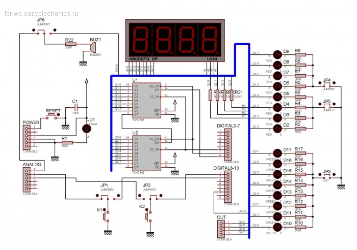 Arduino: LED Shield
