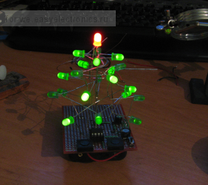My Ugly LED Tree :)