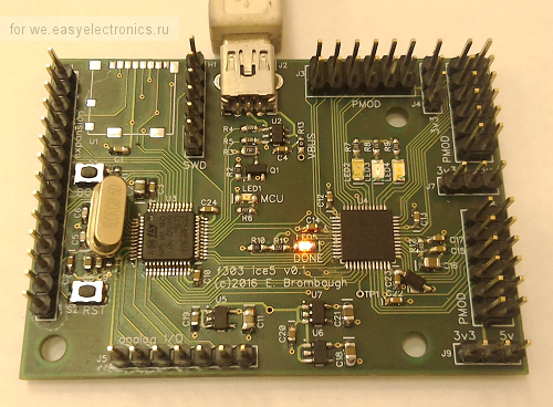 STM32F303 + ice5 Development Board